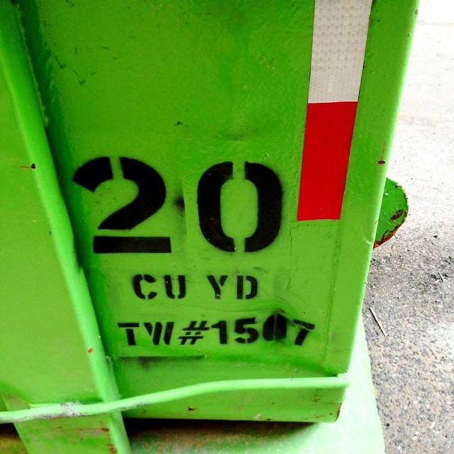 Garbage type #walkingtoworktoday