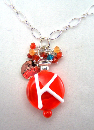 Personalized Letter Initial Pendant and Necklace