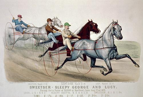 002-Imagen carreras caballos trotones-Library of Congress