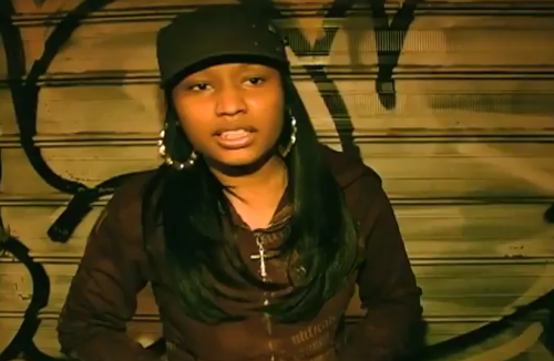 old nicki minaj nose
