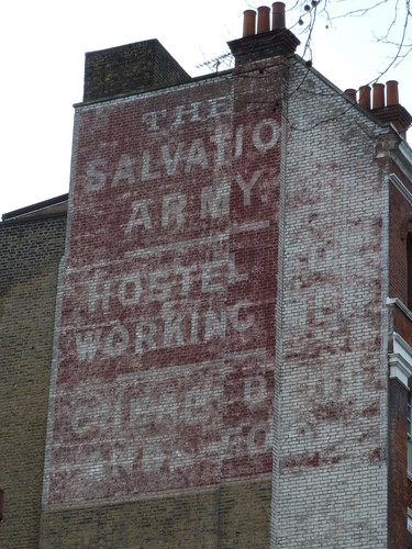 Salvation Army, Old Street, EC1 by victorianlondon