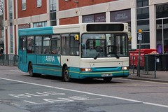 metropolitan area, vehicle, transport, mode of transport, public transport, dennis dart, minibus, land vehicle, bus,