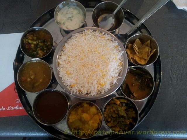 Indo Lankan Restaurant Seven Hills Menu