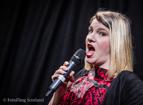Susie Dumbreck performs Big Time at The Butterly and the Wolf, benefit for Lupus UK at Summerhall, Edinburgh, March 2 2013. Photo © Richard Findlay http://fotoflingscotland.co.uk