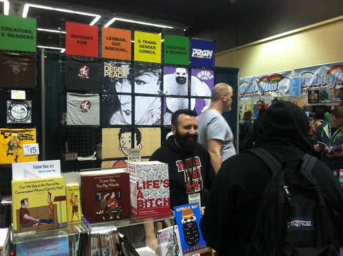 Prism booth at Emerald City ComicCon