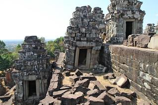 Image of Phnom Bakheng near Siem Reap. travel cambodia siemreap phnombakheng