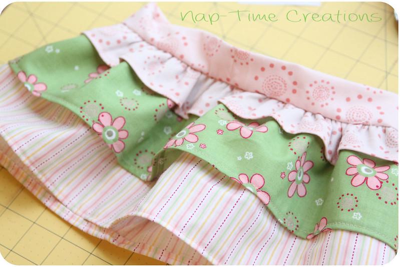 Infant skirt free pattern 4