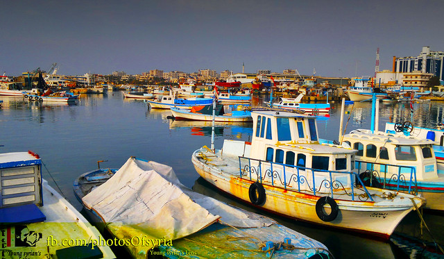 syria - lattakia - fishing and tourism marina