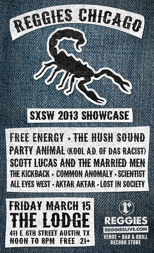 Reggies SXSW Showcase 2013