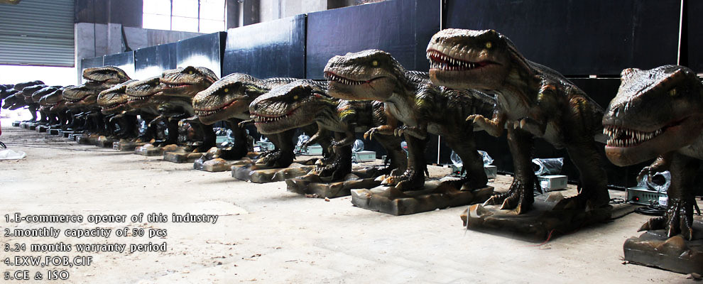 Animatronic Dinosaurs for Rental
