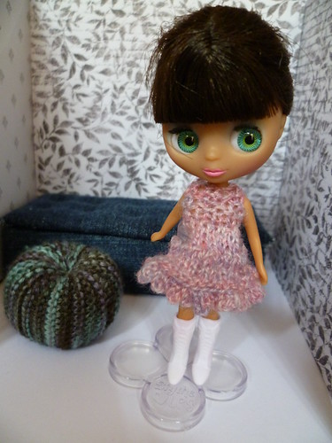 petite blythe knit dress