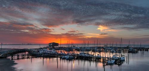 mississippi boats dawn longbeachharbor mississippigulfcoast herowinner ultraherowinner