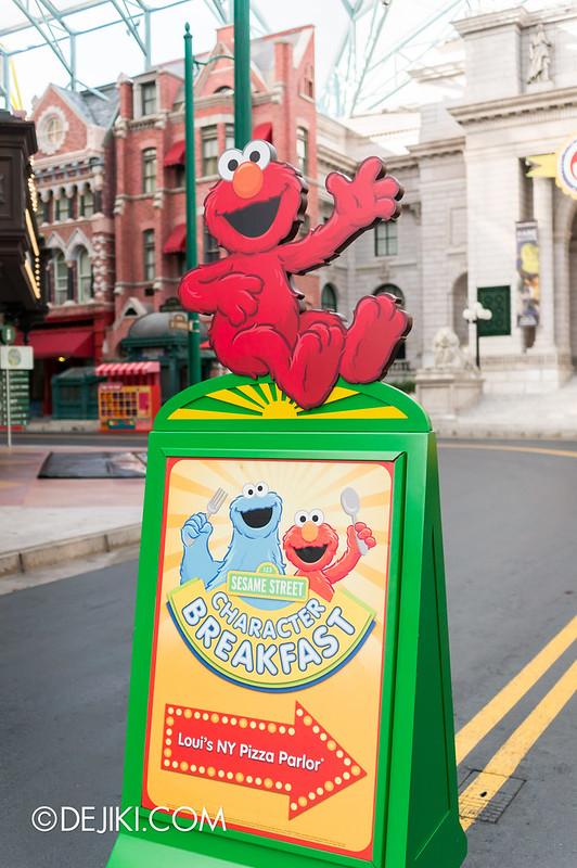 Sesame Street Character Breakfast At Universal Studios
