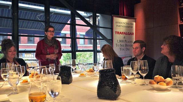 Trafalgar Canada & Patricia Schultz | Blue Water Cafe + Raw Bar @ Yaletown, Vancouver