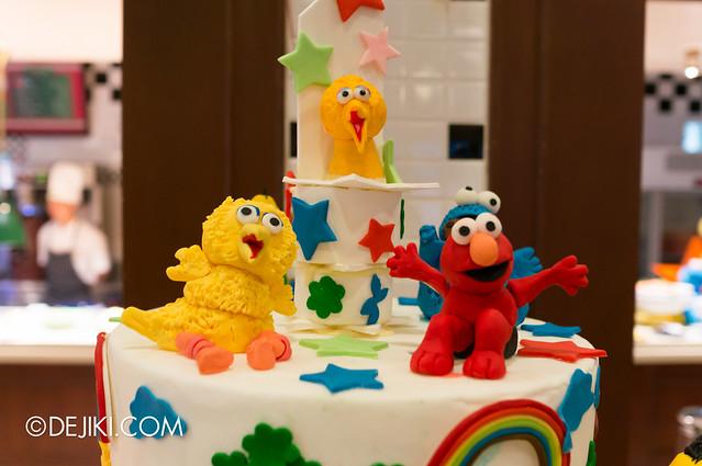 Sesame Street Character Breakfast at Universal Studios Singapore - Edible characters