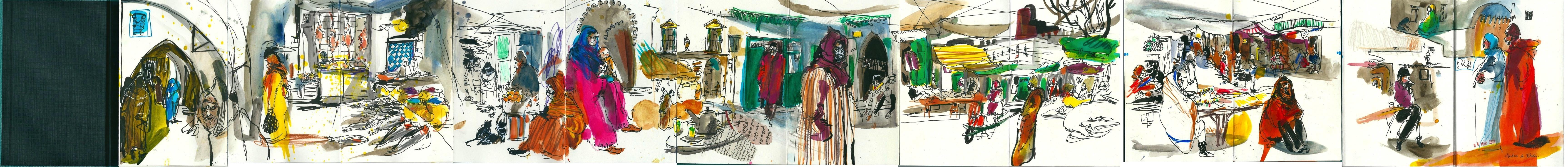 Medina de Tetuan. Cuaderno completo. Marzo 2013