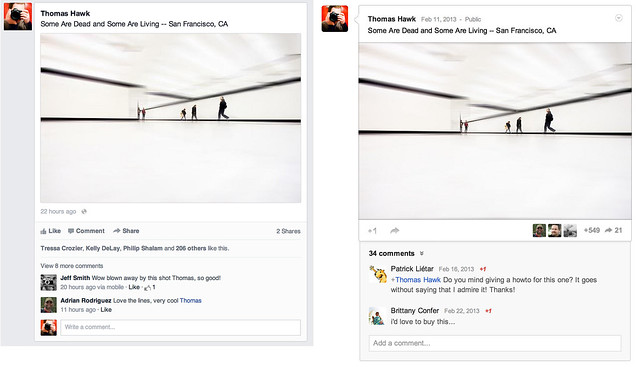 The New Facebook Newsfeed Feels ALOT Like Google+