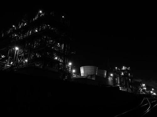 Kawasaki factory night scene 09