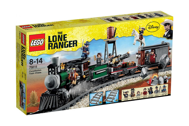 LEGO The Lone Ranger 79111 - Constitution Train Chase - BoxArt