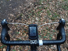 Garmin Edge 810 am Lenker