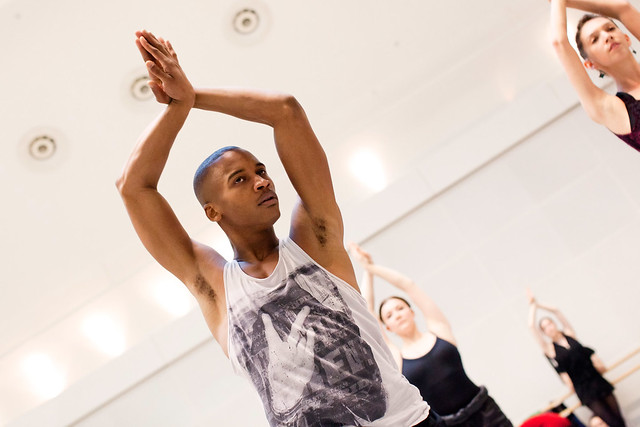 Eric Underwood in rehearsals for Alice's Adventures in Wonderland © ROH/Johan Persson, 2011
