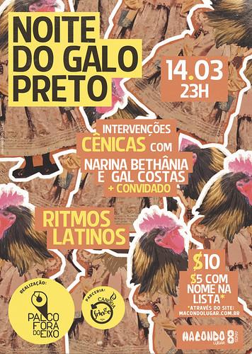 Noite do Galo Preto (14/03/13)