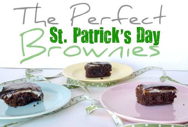 The Perfect St. Patricks Day Brownies