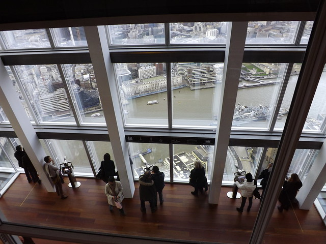 The View from The Shard: Down on the Observation Deck
