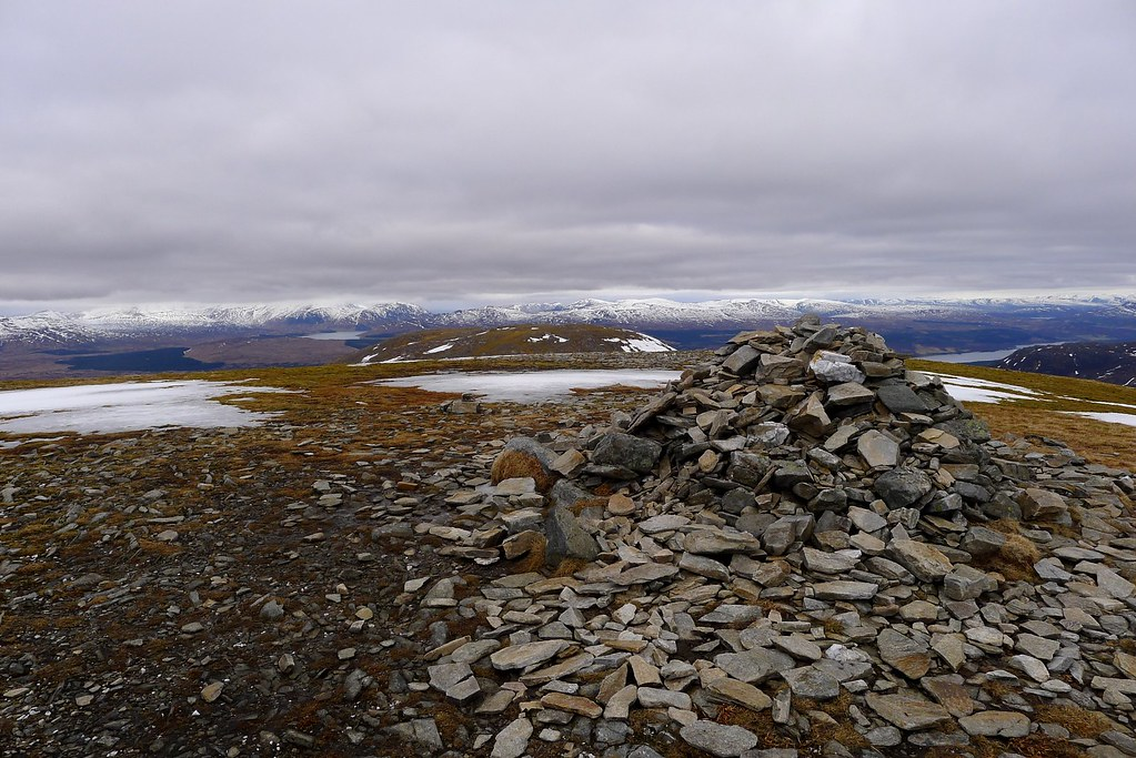 Summit of Meall Buidhe