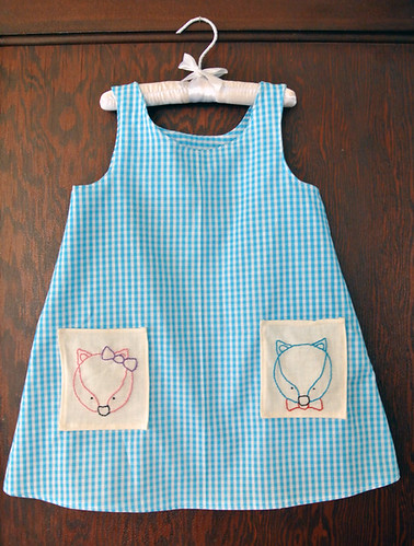 Mr. And Ms. Fox Gingham Dress