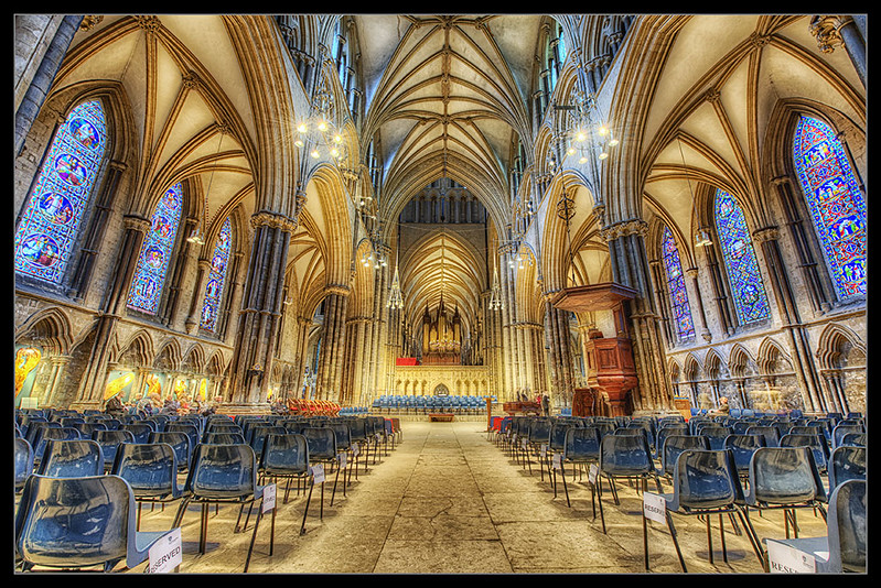 Photo:Christmas Carol Day at Lincoln Cathedral UK By:Jack Torcello