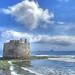 Castillo de San Cristóbal y barrio marinero Las Palmas de Gran Canaria Islas Canarias España