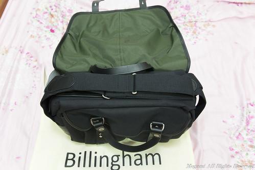 Billingham FibreNyte 307 肩背帶 1