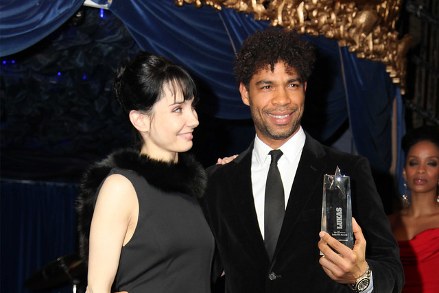 Carlos Acosta and Tamara Rojo at the Latin-UK Awards © Ric Pereira 2013