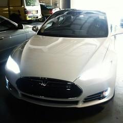 aston martin dbs v12(0.0), aston martin rapide(0.0), aston martin dbs(0.0), aston martin db9(0.0), concept car(0.0), supercar(0.0), automobile(1.0), tesla(1.0), automotive exterior(1.0), vehicle(1.0), performance car(1.0), automotive design(1.0), land vehicle(1.0), luxury vehicle(1.0), sports car(1.0),