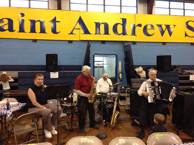 House band at St. Andrew - #FishFryFriday