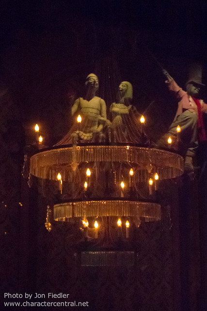 WDW Sept 2012 - Riding the Haunted Mansion