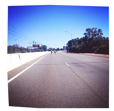 RAC Freeway Bike Hike 2013