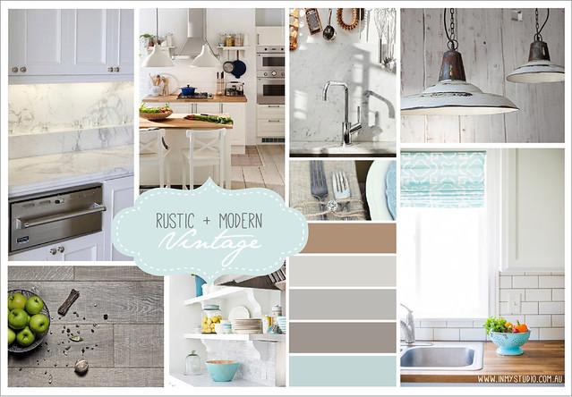 In My Studio Interior Design Kitchen Mood Board