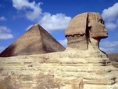 [Free Images] Architecture, Archaeological Sites, Pyramid, World Heritage, Landscape - Egypt, Sphinx ID:201303291600