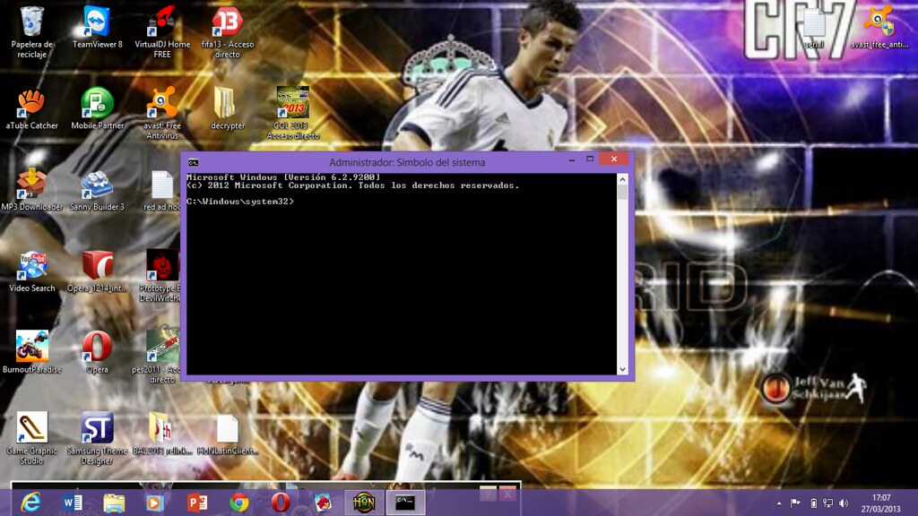 en windows 8