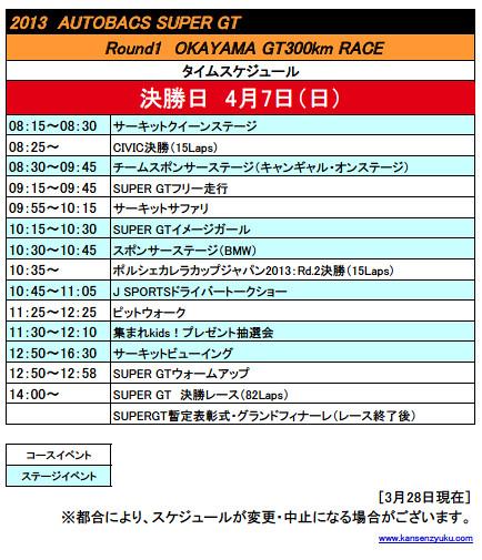 2013SGT岡山タイスケ(決勝日)