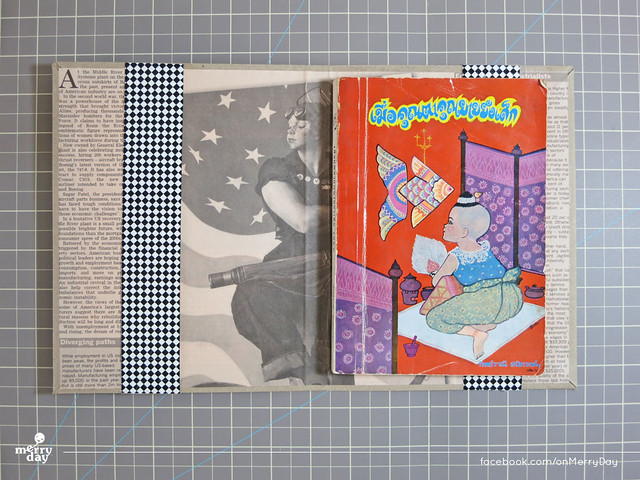 diy making book jacket from toothpaste boxes12