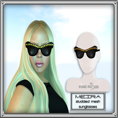 PP - Meira Mesh Sunglasses Gold