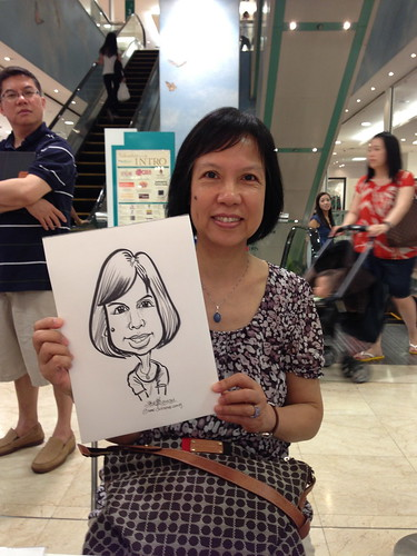 caricature live sketching for Takashimaya Good Friday Special - 18
