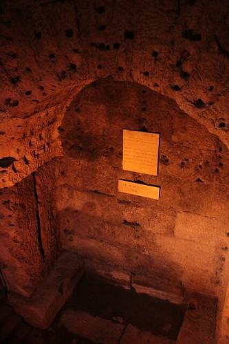 """Castel Sant'Angelo:  la """"stanza delle urne cinerarie"""""""
