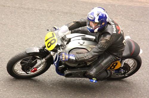 Manx Norton Racer