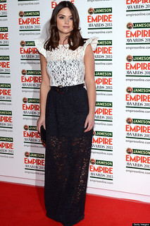 Jenna Louise Coleman Monochrome Trend Celebrity Style Women's Fashion