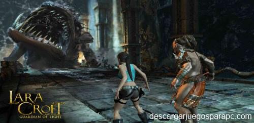 Lara Croft y el guardian de la luz