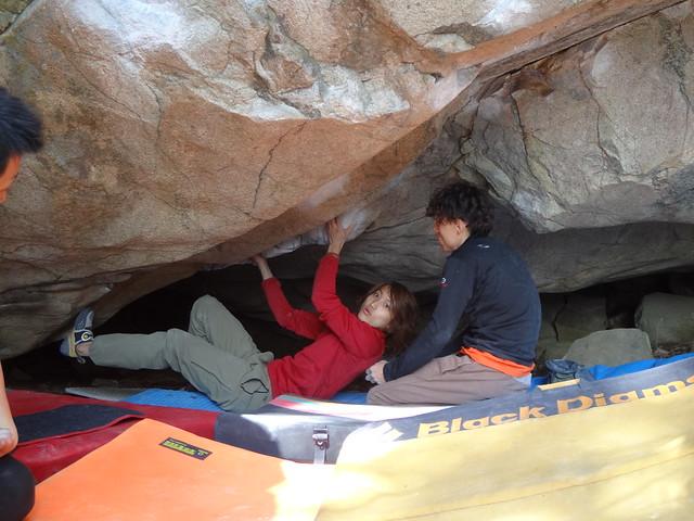 笠置山ボルダー(2013.3 (14)